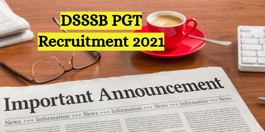 DSSSB PGT 2021 new exam dates announced