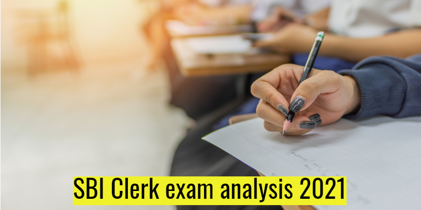 SBI Clerk Exam Analysis 2021 for July 12: Check good attempts, difficulty level here