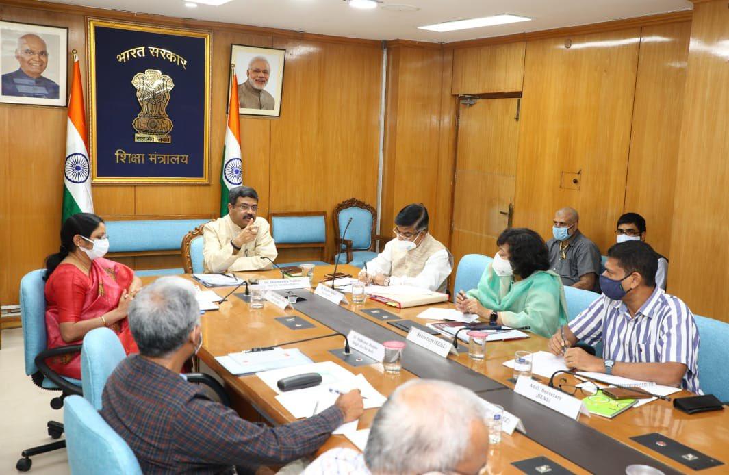 Dharmendra Pradhan reviews ministry's digital education initiatives