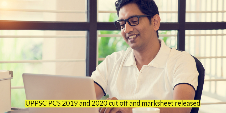 UPPSC PCS cut off and marksheet released for 2019 & 2020; Check details here