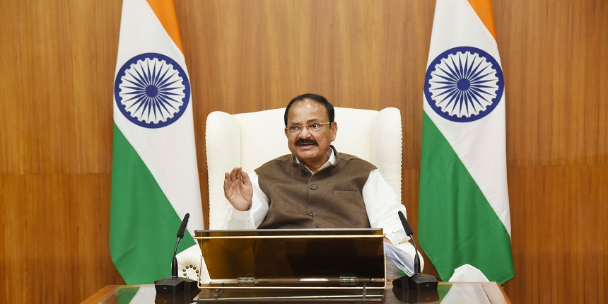 VP Naidu welcomes decision of 14 engineering colleges to offer courses in regional languages