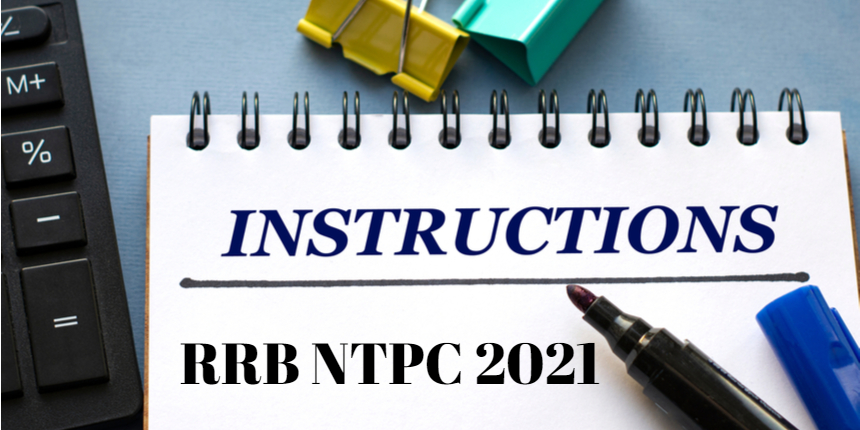 RRB NTPC 2021 exam day instructions- check guidelines to be followed