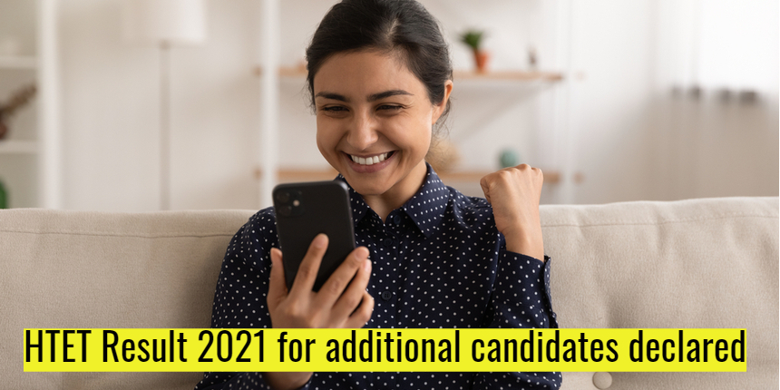 HTET result 2021 for additional candidates declared at bseh.org.in