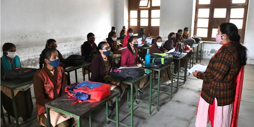 Madhya Pradesh schools reopen for Class 12 students