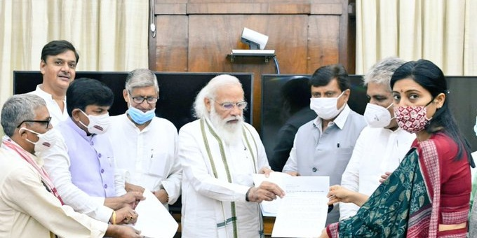 OBC and EWS reservation in all-India Exam for medical courses: NDA MPs request PM Modi