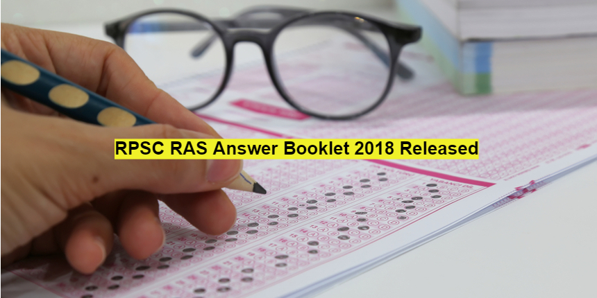 RPSC RAS 2018 Answer booklet released; Check details here