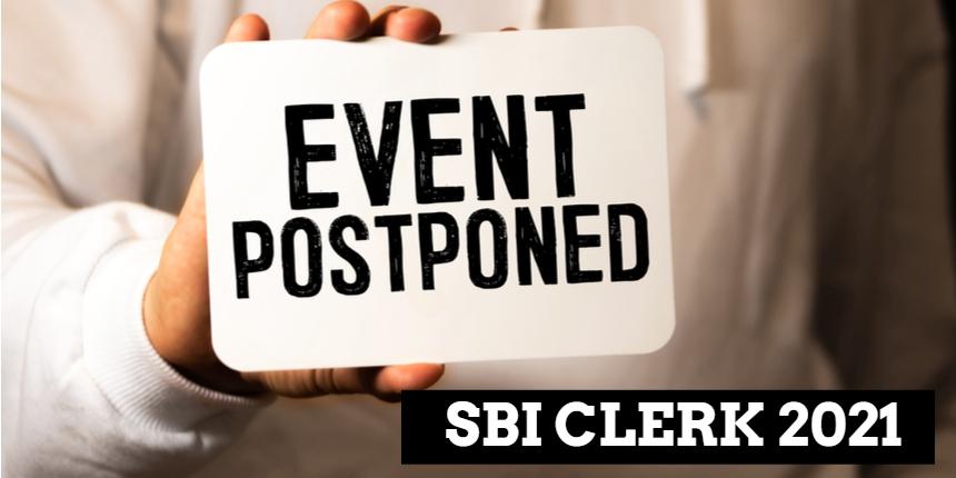 SBI Clerk 2021: Prelims exam postponed in four cities; Check details here