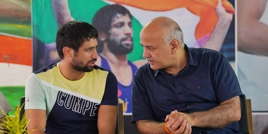 Delhi government school to be renamed after Olympic medal winner Ravi Dahiya: Sisodia