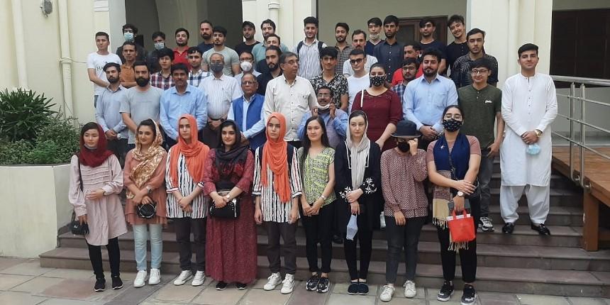 Delhi University officials meet Afghan students; assure help