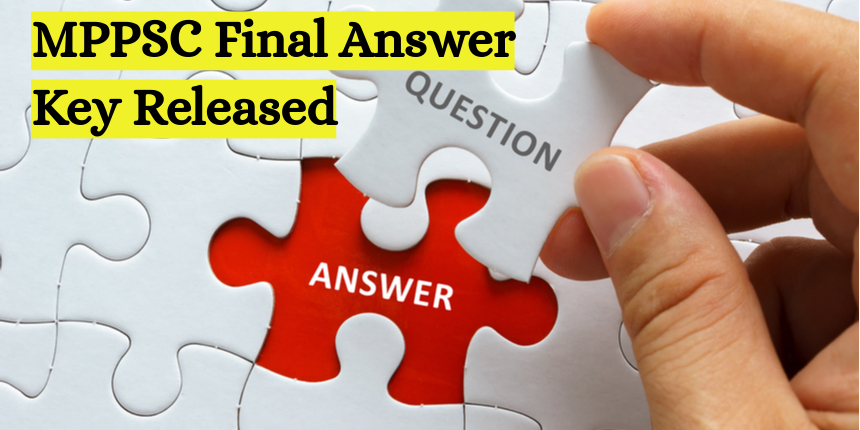 MPPSC 2020 final answer key released at mppsc.nic.in; Download now