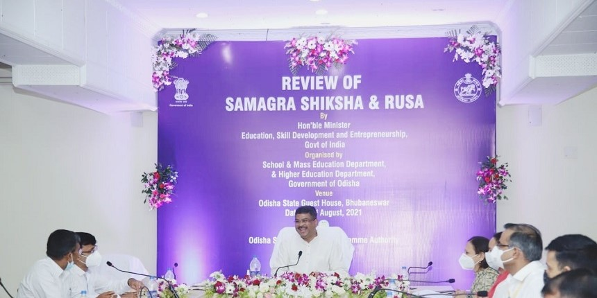 Reviewed implementation of RUSA in higher education institutions in Odisha: Pradhan
