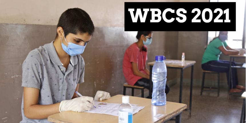 WBCS prelims 2021 exam to begin soon