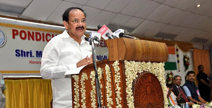 Vice President greets people on World Sanskrit Day