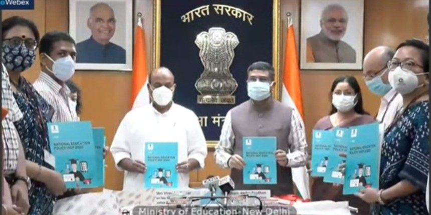 Dharmendra Pradhan launches major initiatives of NEP 2020, one-year achievement booklet
