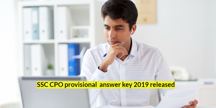ssc cpo answer key featured image Sarkari Result, Online Sarkari Results   Latest jobs, Online Form