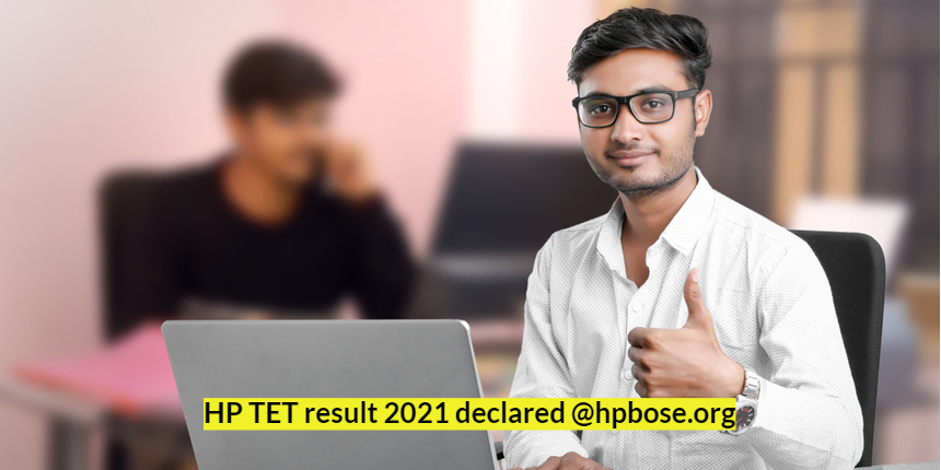 HP TET 2021 result declared @hpbose.org; Check details here