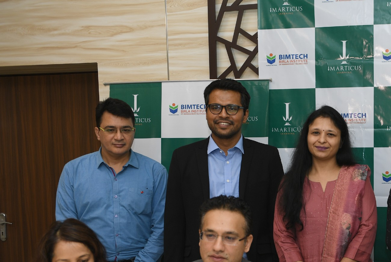 BIMTECH to launch a live online PGDM programme with Imarticus Learning