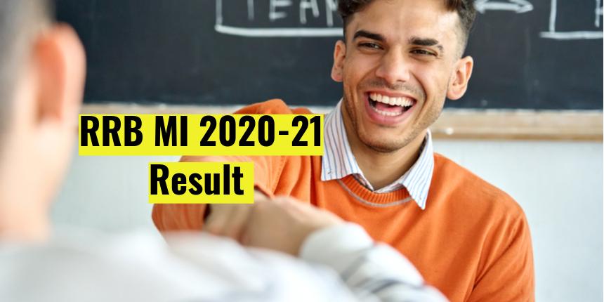 RRB MI Result 2020-21 declared at rrbcdg.gov.in; Check cutoff, download scorecard here