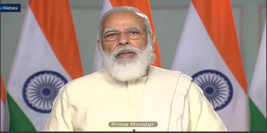 """21st century India has moved toward a new era of education, skill"": PM Modi in Aligarh ."
