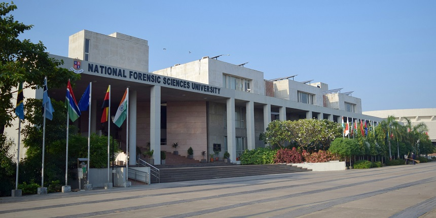 Union law minister inaugurates School of Law, Forensic Justice and Policy Studies at NFSU