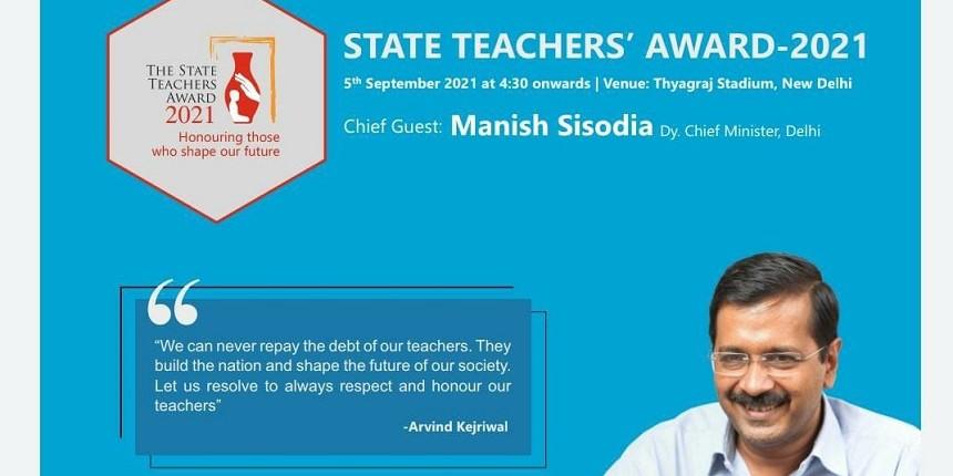 Teacher's Day 2021: Delhi government to honour 122 teachers with state teachers awards