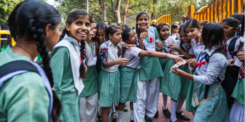 Schools reopen for students of classes 6 to 8 in Karnataka