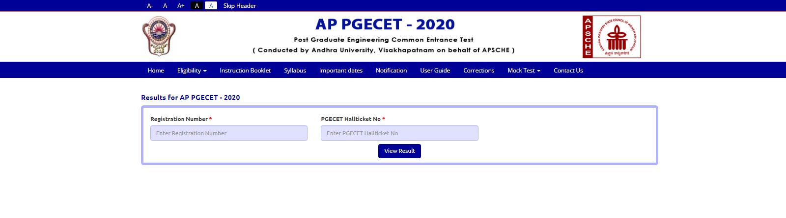 AP-Pgecet-result