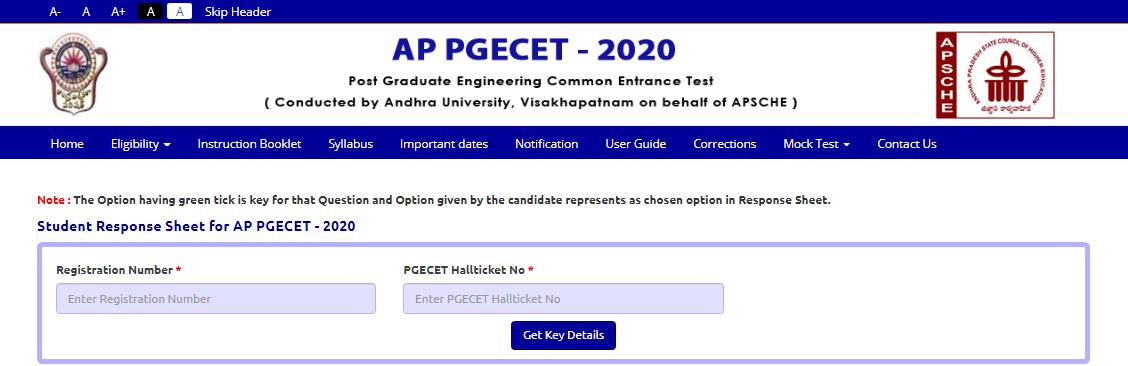 ap-pgecet-response-sheet