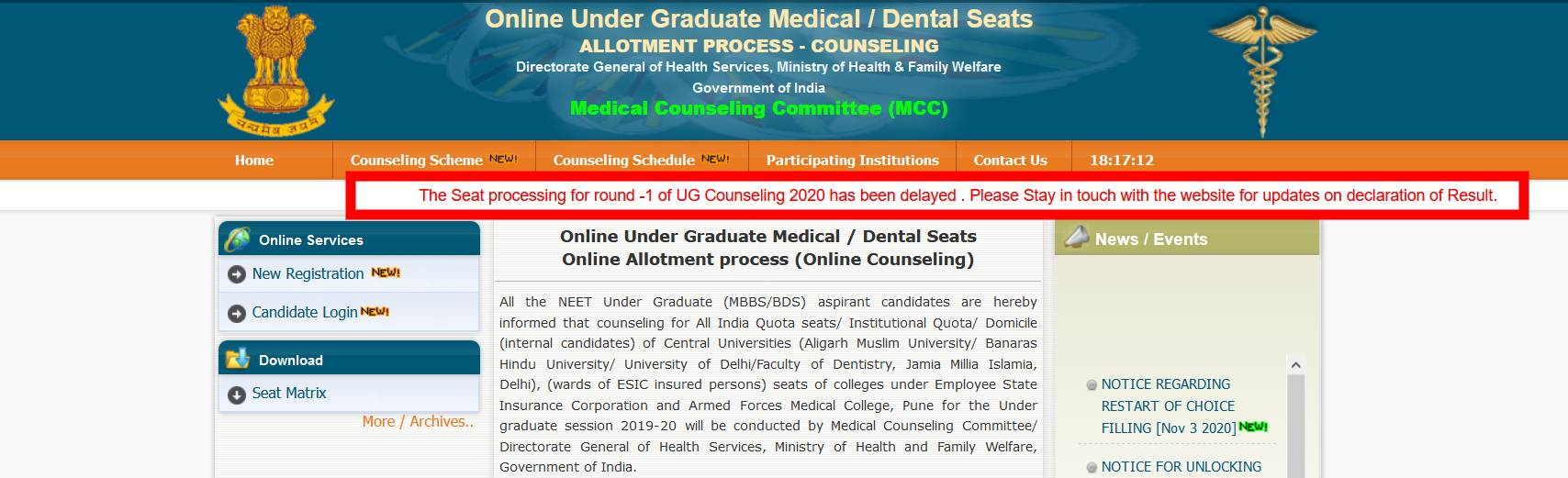 mcc-neet-counselling-round-one-delayed_tANuxdA
