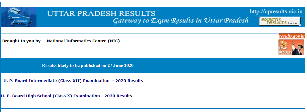 up board class 10th 12th result