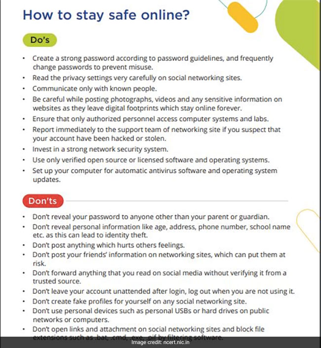 NCERT has released guidelines to prevent cyber bullying