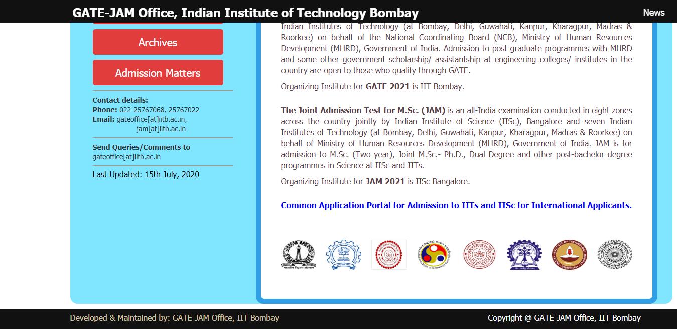GATE_JAM_Office_IIT_Bombay