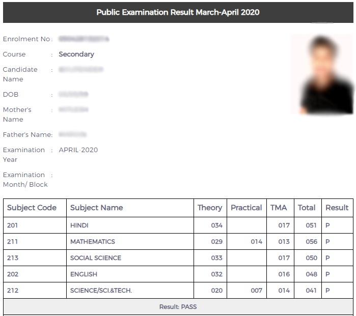 NIOS-10th-Class-result-2020