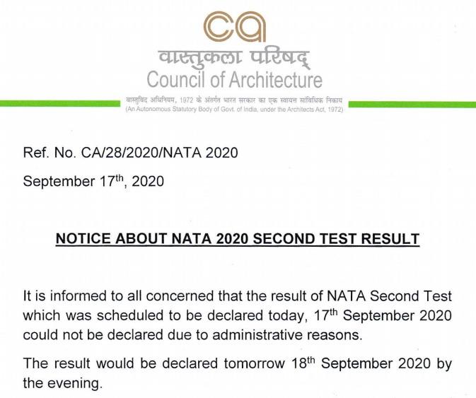 NATA-Result
