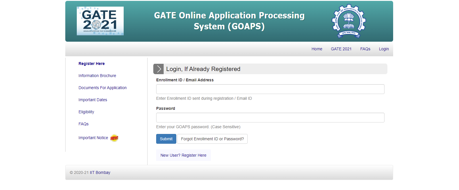 gate-registration