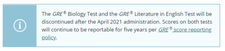 GRE -Subject-Test-notification