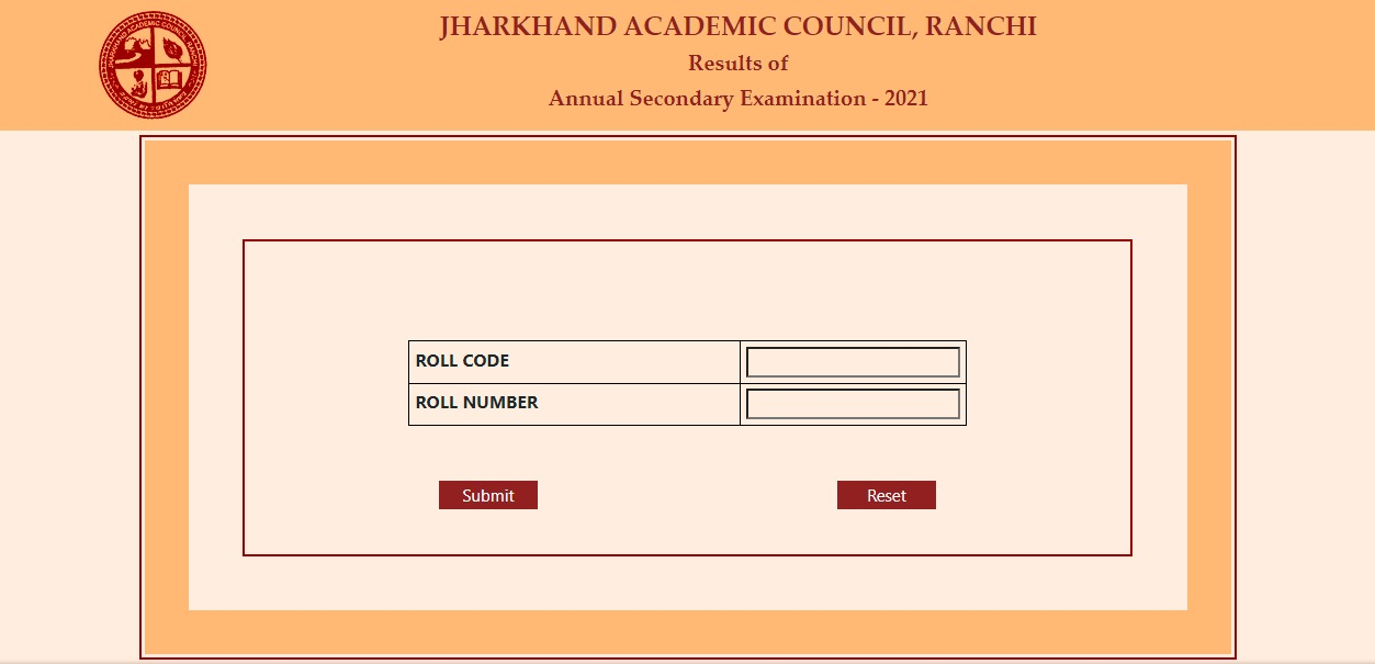 JAC Jharkhand 10th result 2021