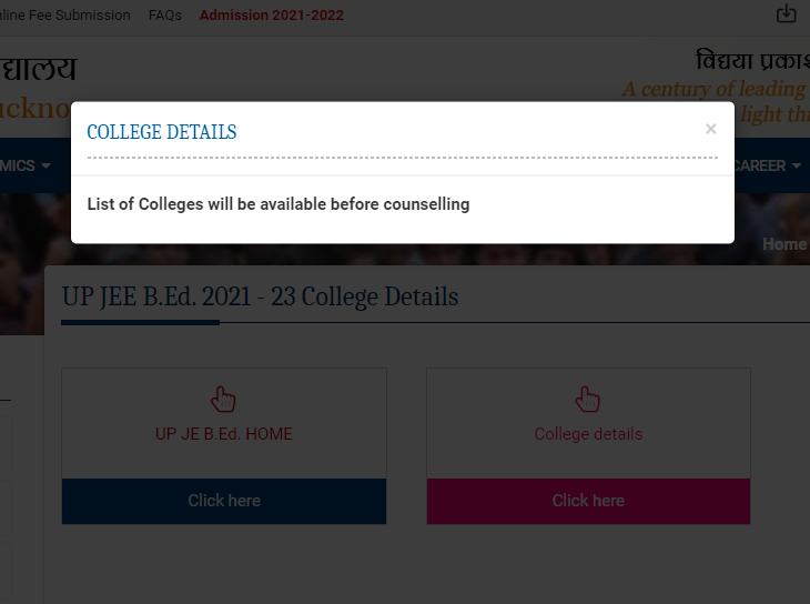 up-bed-college-list-up-jee-bed-2021-result-counselling-lkouniv-ac-in-featured-image