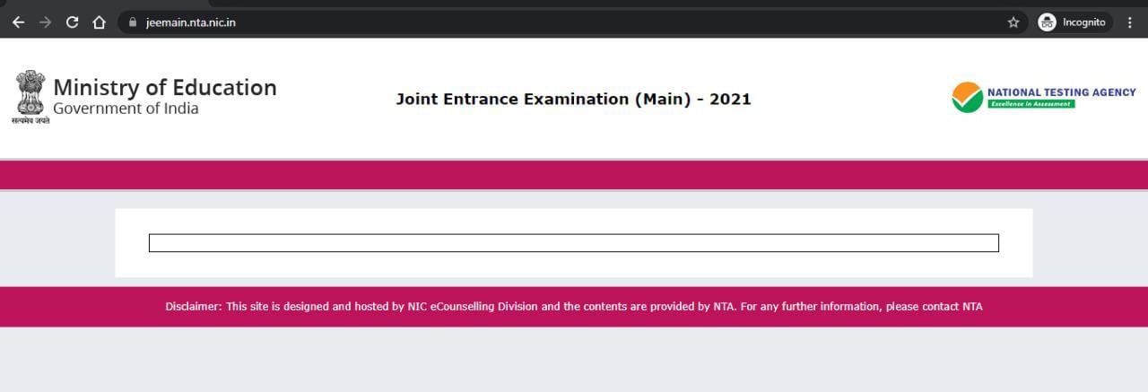 jee main result 2021 session 4 result date and time soon