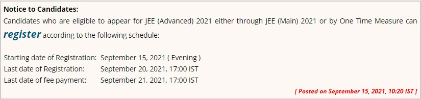 jeemain.nta.nic.in 2021 application form jeeadv.ac.in registration