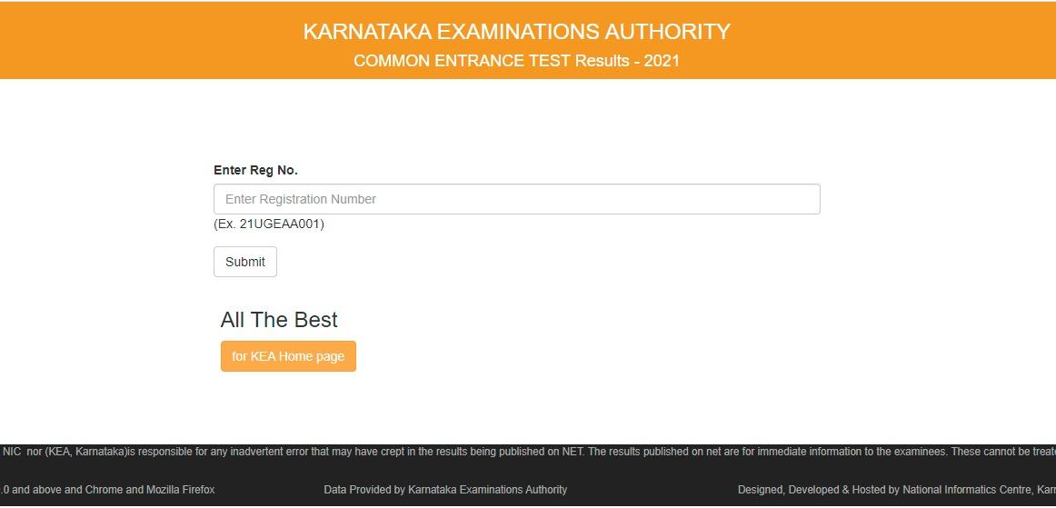 www.cetonline.karnataka.gov.in 2021 KCET result