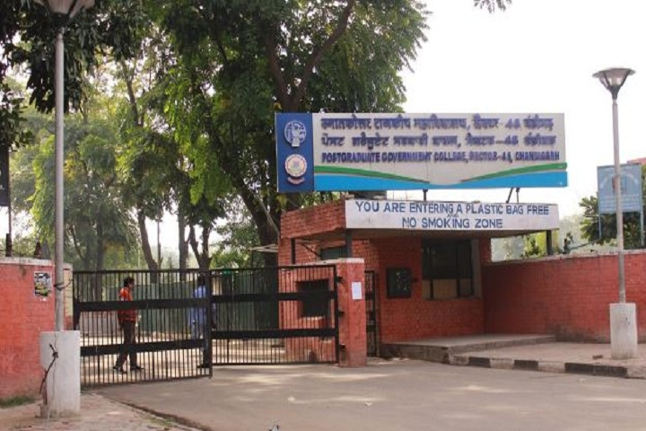 https://cache.careers360.mobi/media/colleges/social-media/media-gallery/10129/2020/3/21/Main Gate of Post Graduate Government College Sector 46 Chandigarh_Campus-View.jpg