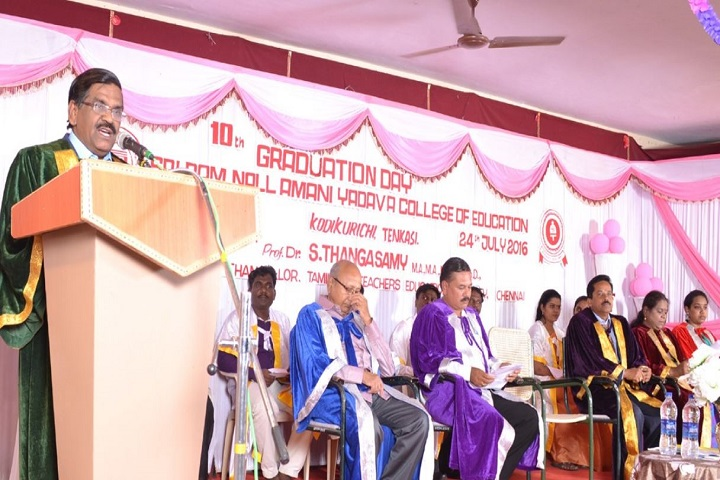https://cache.careers360.mobi/media/colleges/social-media/media-gallery/23911/2018/10/12/Graduation day of Sri Ram Nallamani Yadava College of Education Tenkasi_Events.JPG