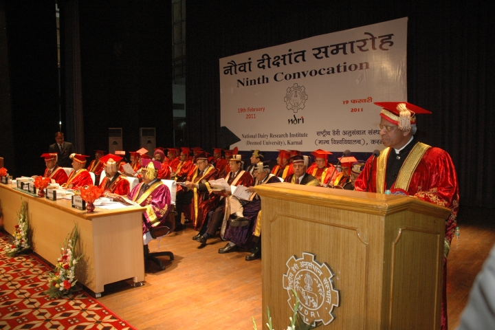 https://cache.careers360.mobi/media/colleges/social-media/media-gallery/361/2018/10/3/Ninth Convocation of National Dairy Research Institute Karnal_Events.jpg