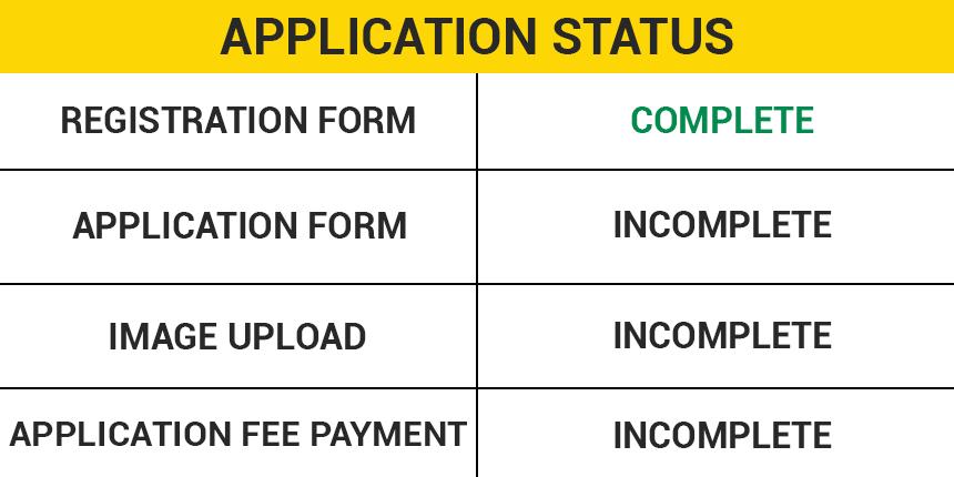 JEE Main Application Status