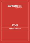 ATMA verbal Ability 1