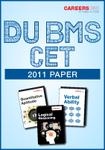 DU BMS CET 2011 Paper