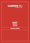 MAT 2012 Solved Paper