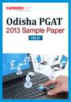 Odisha PGAT 2013 Sample Paper 3 CSE IT Engineering