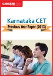 Download Karnataka CET Previous Year Paper (2013)
